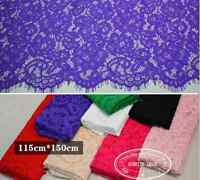 115*150CM, Lace Fabric Embroidery Floral Wedding Fabric dress skirt sewing FL155