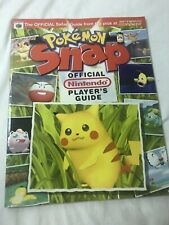 Pokemon Snap Nintendo Power Official Strategy Game Guide