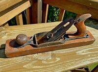 "Vintage Antique Bailey Wood Plane Planer Carpentry Woodworking 15"""