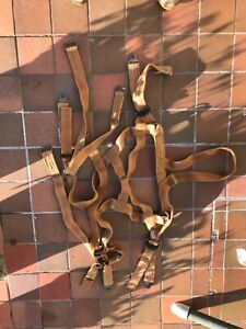 Post WW2 Seat Type Parachute Harness Boxed