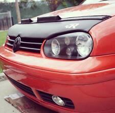 Car Bonnet Hood Bra + R LOGO Fits Volkswagen Golf 4 IV MK4 99 00 01 02 03 04 05