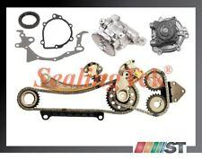 Fit Suzuki G18K J18A J20A J23A Engine Timing Chain Set w/ Oil & Water Pumps Kit