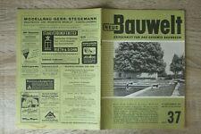 NEUE Bauwelt Zeitschrift Bauwesen Heft 37 10.9.1951 Architektur Kanton Spital Zü