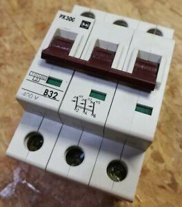 F&G PX300 B32A Felten & Guillaume Sicherungsautomat Leitungsschutzschalter 3-pol