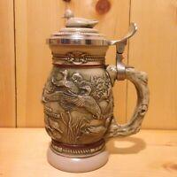 Vintage Collector AMERICAN DUCKS AvonUSA Lidded Beer Stein Gift MUG