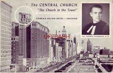 CENTRAL CHURCH, The Church in the Tower HILTON HOTEL, CHICAGO Rev K. HILDEBRAND