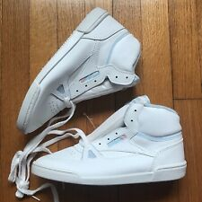 aa630e33fd354 Vintage Womens Size 9 Trax Aerobix White High Top Shoes 80s 90s New Old  Stock