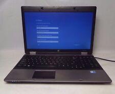 """HP ProBook 6560b 15.6"""" Intel i7-2620M @ 2.7 GHz 4 GB RAM 500 GB HDD Win 10 Pro"""