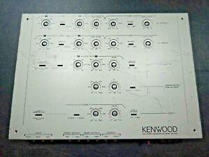 OLD SCHOOL TOF OF THE LINE KENWOOD KEC-600 CROSSOVER COMPLETELY REFURBISHED