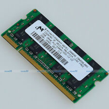 Micron 2GB PC2-5300 DDR2-667 667Mhz 200pin DDR2 Laptop Memory SO-DIMM 2G RAM NEW