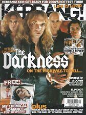 KERRANG! #1082 NOV 2005: MY CHEMICAL ROMANCE POSTERS Darkness SLIPKNOT Trivium