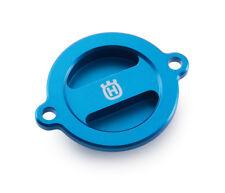 Husqvarna Enduro Supermoto 701 OEM Oil Filter Cover Blue - 81338943500