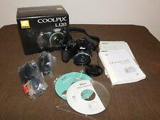2010 NIKON COOLPIX L120 DIGITAL CAMERA in BOX MINOR USAGE