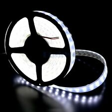 16ft Cool White 600 LED Flexible Strip Light Waterproof ip66 SMD 5050 DC 12V 10A