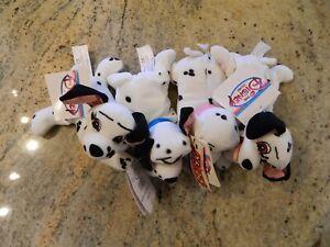 "4 The Disney Store 8"" Mini Bean Bag Plush - 101 Dalmatians w/ Sound Penny"