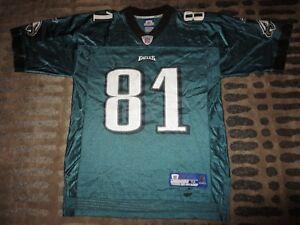 Terrell Owens #81 Philadelphia Eagles Reebok Super Bowl NFL Jersey M Medium