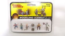 Woodland Scenics Accents HO 1:87 Hobos Homeless People Men & Women Figures A1860