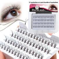 1 Box 56Pcs Eye Lashes 8/10/12mm False BLACK Individual Extension Eyelash Makeup