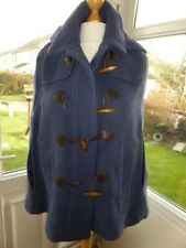 TOPSHOP HOODED DUFFLE CAPE COAT SIZE 14