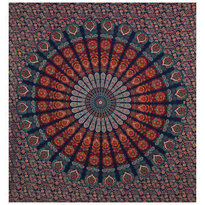Decorative Tapestry Wall Hanging Mandala Hippie Bedspread Throw Bohemian Cover