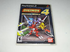 PLAYSTATION 2 PS2 GAME DIGIMON DIGITAL MONSTERS WORLD 4 DISC ONLY  BAN DAI PS2