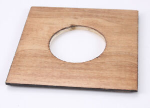 LENS BOARD, ABOUT 4.5 INCHES SQUARE 54MM DIAMETER HOLE/187224