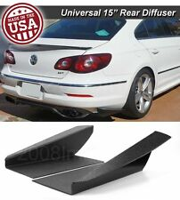 "15"" G3 Rear Bumper Lip Downforce Apron Splitter Diffuser Canard For Toyota Scion"