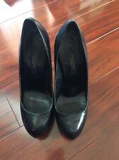 Ruthie Davis Black Pumps Clear Heel Size 38.5