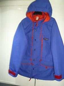 Men's Blue Gore-tex Hooded Gemini Jacket by Berghaus in Size S