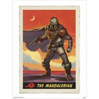 Star Wars: The Mandalorian - Collectors Card POSTER 60x80cm NEW art print