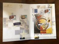 2004 Folder Poste Grandi Eventi Filatelici Valori d'Italia Essen Europa