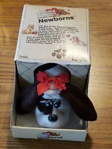 Original 1985 Pound Puppies Newborns #7807, With Box And Papers