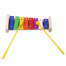 8 Notes Wooden Xylophone Glockenspiel Children Musical Instrument Music Toy