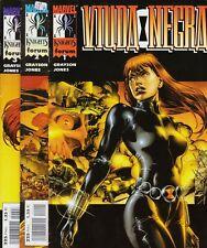 Marvel Knights: VIUDA NEGRA vol. 1 Colección completa 3 nº's Cómics Forum, 2000.