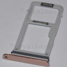Samsung Galaxy A3 2017 nano-SIM-Halter peach A320F microSD Slot Schlitten Tray!