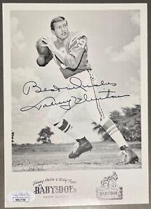Johnny Unitas Signed Autograph 5x7 Photo Baltimore Colts HOF JSA COA