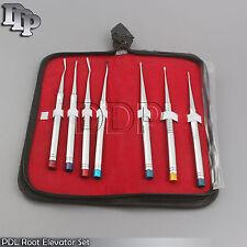 PDL,Root Elevators Set of 7 Pieces Dental instruments DN-444