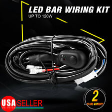 8FT Power Switch & Relay Wiring Harness Kit for LED Light Bar Off-road