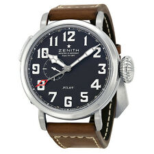 Zenith Elite Pilot Automatic Black Dial Mens Watch 03.2430.693/21.C723