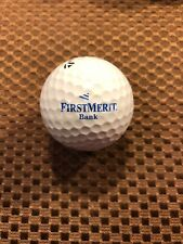 Logo Golf Ball-First Merit Bank.