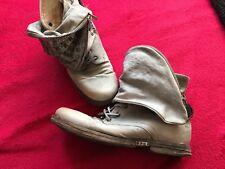 A.S.98 Stiefel in grau mit Nieten Gr. 40