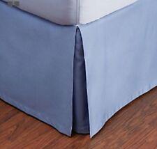 Hudson Park Bedding 800 Tc Egyptian Cotton Cal King Bedskirt Delft Blue