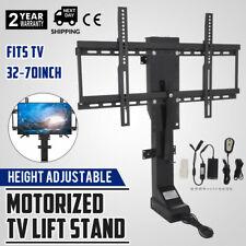 "New listing Motorized Tv Lift Mount Bracket For 32-70"" Tvs Heavy-Duty Electric Us Plug"