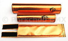 FLITE ICE old school BMX padset foam racing pads *MADE IN USA* COPPER