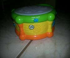 "Leap Frog ""LEARNING DRUM""  2010 ;musicial & lights up ;English/Spanish"