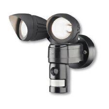 Twinspot Security Halogen Light with PIR Sensor Camera Audio Warning & SD Card
