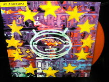 LP U2 zooropa UK 2010 ORANGE VINYL rare 1993 VINILO NARANJA