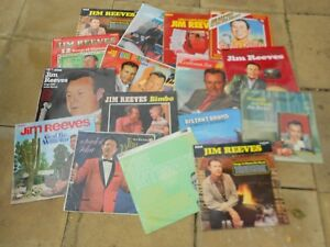 JIM REEVES - COLLECTION OF 18 LPs - REDUCED
