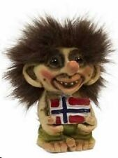 Nyform Troll with Norway Flag Figure, NEW