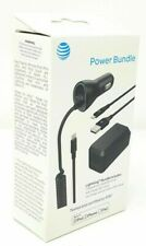 AT&T Lightning Charge Sync Cable Wall Charger Car Charger Bundle iPhone7 7+ 6 6+